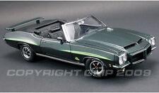 1971 Pontiac GTO Convertible GREEN 1:18 GMP 1801223
