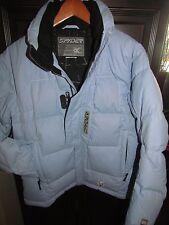 SPYDER- Fabulous down jacket women's M/L brushed powder blue/periwinkle-LOOK!