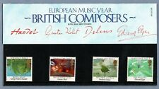 1985, Royal Mail Mint Stamps, Pack No. 161, British Composers
