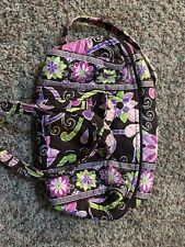 Vera Bradley Small Duffel Purse Brown Purple Pink