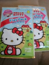 Hello Kitty Play Pack Grab And Go Hello Fun Lot Of 2