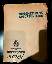 VINTAGE ENGINEERING OPPORTUNITIES Softcover