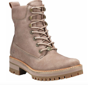 Timberland Women's Courmayer Taupe 6 Inch Boots Size 6