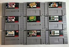 SNES Games - PICK and Choose Super Nintendo Video Games - FREE/FAST SHIPPING!