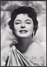 RUTH ROMAN 07 ATTRICE ACTRESS CINEMA MOVIE STAR PEOPLE Cartolina FOTOGRAFICA