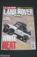 Land Rover World November 2001, S3 in Zambia/NAS 4.6 V8 90/Defender in Nepal