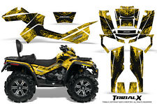 CAN-AM OUTLANDER MAX 500 650 800R GRAPHICS KIT CREATORX DECALS STICKERS TXBY