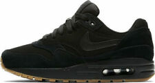 Nike Air Max 1 Mens Womens Junior Boys Girls Trainers UK Size 6 Eu40 Black Gum