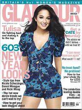 Glamour magazine Tulisa New Year fashion Nicole Scherzinger Skincare Dating Sex