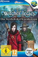 WITCHES` LEGACY * DAS VERSTECK DER HEXENKÖNIGIN * WIMMELBILD-SPIEL  PC CD-ROM/