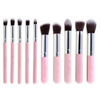 10Pcs Pro Kabuki Makeup Brushes kit Cosmetic Blusher Eye Face Foundation USStock