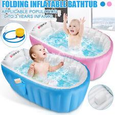 Aufblasbare Badewanne Babybadewanne Kinder Falten Waschbecken Swimming Pool DE