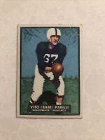 1951 Topps Magic #4 Babe Parilli QB Kentucky Wildcats..Great Centering Set Break