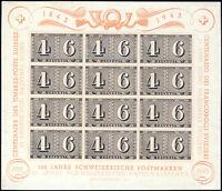 SCHWEIZ 1943, Block 9, sauber ungebraucht, Mi. 50,-