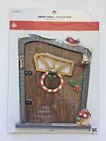 Celebrate It - Merry Minis -  Elf door fairy garden Christmas village