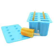 Verano de Silicona Molde De Congelador de helado Hazlo tú mismo Maker Pop Popsicle Palos Lolly