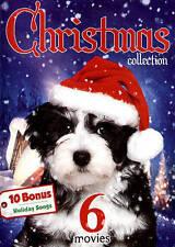 Christmas Collection: 6 Movies - 10 Bonus Holiday Songs (DVD, 2015)