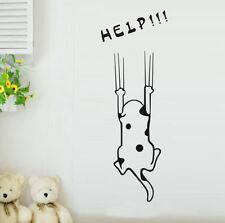 Cute Cartoon Dog Refrigerator Cabinet Door Wall Sticker Decal Decor Removable