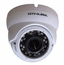 3MP SENSOR HD TVI  CCTV WHITE DOME CAMERA 2.8-12mm LENS 30m IR