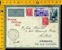 Regno posta aerea volo le 165 Ala littoria Asmara Khartoum Il Cairo