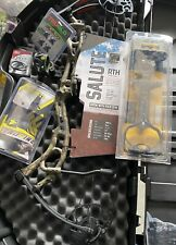 New Bear Archery Salute RTH Camo Package Compound Bow 70# Quiver, Release Etc.