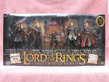 Señor De Los Anillos-Las dos Torres: conjunto de Batalla Helm's Deep-cinco Figuras -