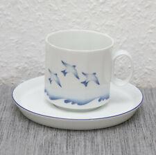 Rosenthal Polygon Studio Linie Schwalben Vögel mit Wellen MEHR VORHANDEN
