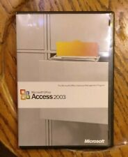 Microsoft Office Access 2003 Original Version 2003 with COA and Product Key