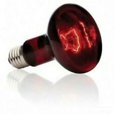 2 LAMPADE INFRARED, INFRAROSSI RISCALDANTE TARTARUGHE, GECHI, SERPENTI, RETTILI