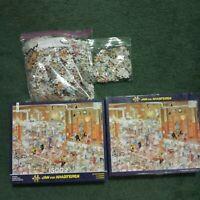 Jan Van Haasteren 'The Kitchen' 1500 piece Jigsaw Puzzle Comic VGUC
