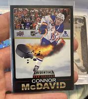🔥2019-20 Upper Deck Credentials Connor McDavid Pro Visions SSP Edmonton Oilers