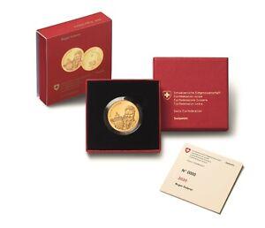 Schweiz 50 Franken 2020 Roger Federer Goldmünze Polierte Platte