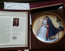 "Vintage Knowles Plate ""The Unexpected Proposal"" from Rockwell's Colonials 1986"