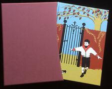 A Child's Garden of Verses Folio Hardcover Slipcase Illustrated RL Stevenson