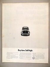 Volkswagen VW Beetle Bug PRINT AD -- 1971