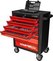KS TOOLS Universal-Systemeinlagen-Satz für 4 Schubladen mit 515 Premium-Werkzeug