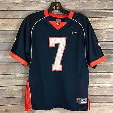 Nike Jersey Boys Medium 10 / 12 Blue Orange Fighting Illini Illinois #7