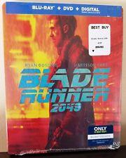 BLADE RUNNER 2049 Blu-Ray + DVD + Digital Copy Best Buy Exclusive STEELBOOK