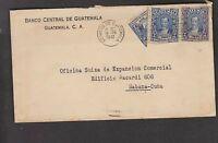 O) 1947 GUATEMALA, BISECTED OF  2 CENTAVOS QUETZAL BLUE,  JUSTO RUFINO BERRIOS-