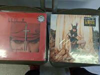 Le Butcherettes Vinyl Lot! Bi/mental + A Raw Youth!