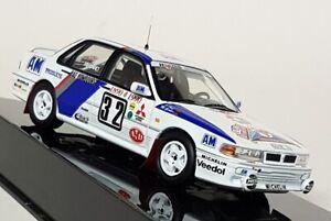 Ixo 1/43 Scale  RAC231 Mitsubishi Galant VR-4 EVO #32 Monte Carlo 1990 Model Car