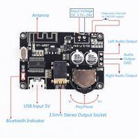 Bluetooth 5.0 Audio Decoder  Receiver Module Adjustable Volume Amplifier Module