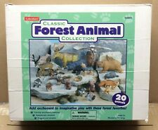Lakeshore Classic Forest Animal Collection Set of 20 Vinyl Toy Woodland Animals