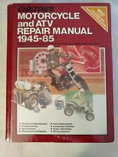 New ListingChiltons Motorcycle and Atv Repair Manual 1945-85 Sealed! 7635