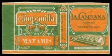 Philippines CAMPANILLA MATAMIS Cigarette Label
