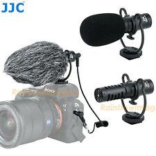 JJC Cardioid Shotgun Microphone Mic Fujifilm Fuji X-Pro3 X-Pro2 X-T4 X-T3 X-T2