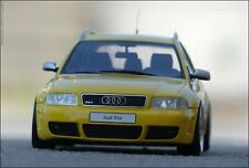 1:18 Tuning Audi RS4 Avant (B5) Mod..2000 - RS Gelb + HMC ALU  = LIMITIERT = RAR