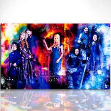 Bild Thrones Leinwand Fantasy Bilder Wandbild Kunstdruck D0165