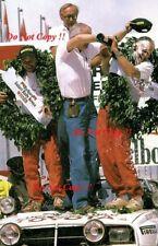 Bjorn Waldegard TOYOTA CELICA GT-FOUR ST165 SAFARI RALLY 1990 fotografia 2