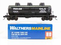 HO Scale Walthers Mainline 910-1105 SHPX Pan Am Oil 36' 3-Dome Tank Car #89
